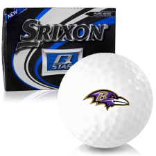 Srixon Q-Star Baltimore Ravens Golf Balls
