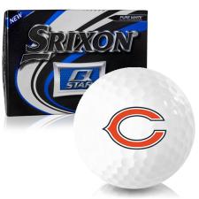 Srixon Q-Star Chicago Bears Golf Balls