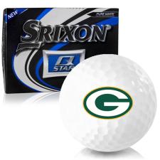 Srixon Q-Star Green Bay Packers Golf Balls