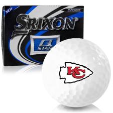 Srixon Q-Star Kansas City Chiefs Golf Balls