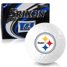 Srixon Q-Star Pittsburgh Steelers Golf Balls