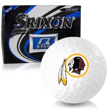 Srixon Q-Star Washington Redskins Golf Balls