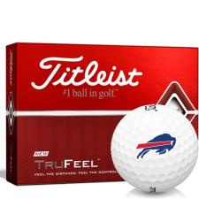 Titleist TruFeel Buffalo Bills Golf Balls