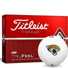 Titleist TruFeel Jacksonville Jaguars Golf Balls