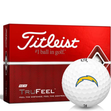 Titleist TruFeel Los Angeles Chargers Golf Balls