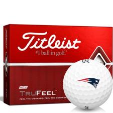 Titleist TruFeel New England Patriots Golf Balls