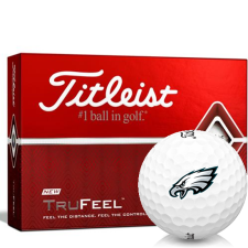 Titleist TruFeel Philadelphia Eagles Golf Balls