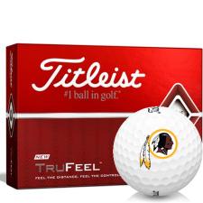 Titleist TruFeel Washington Redskins Golf Balls