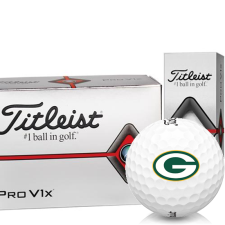 Titleist Pro V1x Half Dozen Green Bay Packers Golf Balls - 6 Pack