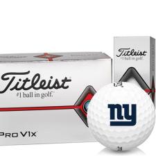 Titleist Pro V1x Half Dozen New York Giants Golf Balls - 6 Pack