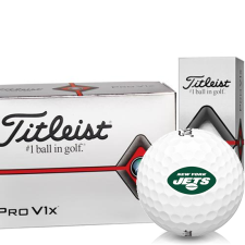 Titleist Pro V1x Half Dozen New York Jets Golf Balls - 6 Pack
