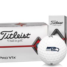 Titleist Pro V1x Half Dozen Seattle Seahawks Golf Balls - 6 Pack