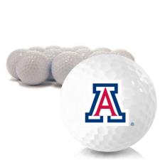 Blank Arizona Wildcats Golf Balls
