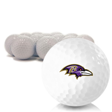 Blank Baltimore Ravens Golf Balls