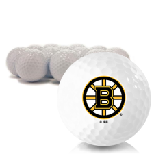 Blank Boston Bruins Golf Balls