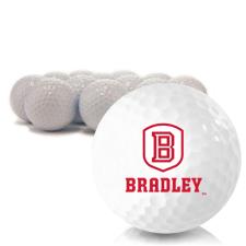 Blank Bradley Braves Golf Balls