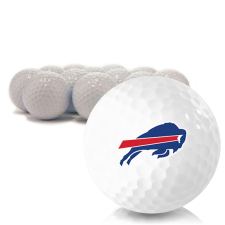 Blank Buffalo Bills Golf Balls