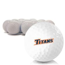 Blank Cal State Fullerton Titans Golf Balls