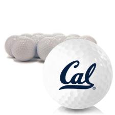 Blank California Golden Bears Golf Balls