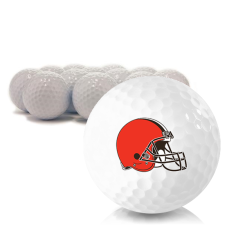Blank Cleveland Browns Golf Balls