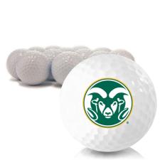 Blank Colorado State Rams Golf Balls