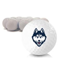 Blank UConn Huskies Golf Balls