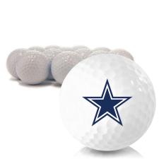 Blank Dallas Cowboys Golf Balls