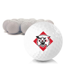 Blank Davidson Wildcats Golf Balls