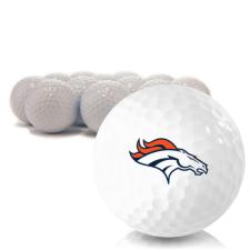 Blank Denver Broncos Golf Balls