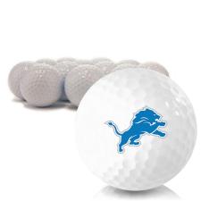 Blank Detroit Lions Golf Balls