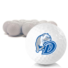 Blank Drake Bulldogs Golf Balls