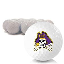 Blank East Carolina Pirates Golf Balls