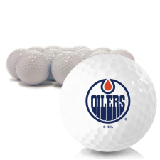 Blank Edmonton Oilers Golf Balls