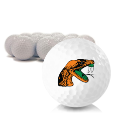 Blank Florida A&M Rattlers Golf Balls