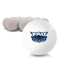 Blank Florida Atlantic Owls Golf Balls