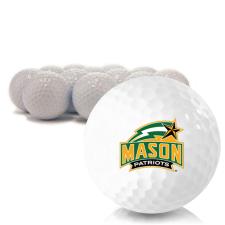 Blank George Mason Patriots Golf Balls