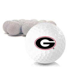 Blank Georgia Bulldogs Golf Balls