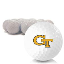 Blank Georgia Tech Golf Balls