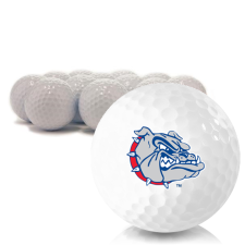 Blank Gonzaga Bulldogs Golf Balls