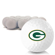 Blank Green Bay Packers Golf Balls