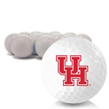 Blank Houston Cougars Golf Balls