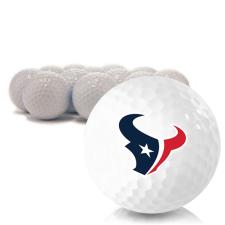 Blank Houston Texans Golf Balls