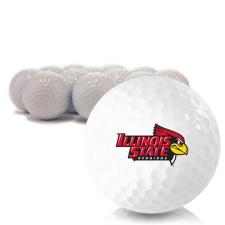 Blank Illinois State Redbirds Golf Balls