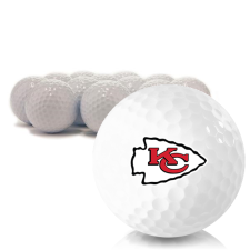 Blank Kansas City Chiefs Golf Balls