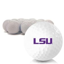 Blank LSU Tigers Golf Balls