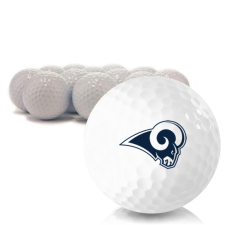Blank Los Angeles Rams Golf Balls