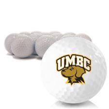 Blank Maryland Baltimore County Retrievers Golf Balls