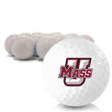 Blank UMass Minutemen Golf Balls