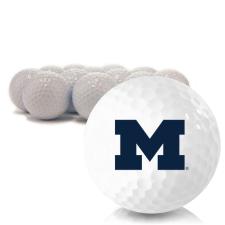 Blank Michigan Wolverines Golf Balls