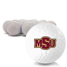 Blank Midwestern State Mustangs Golf Balls